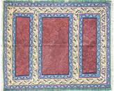 One Kings Lane Vintage 3'9 x 4'7 unique Senneh Kilim