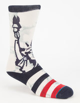 Stance Lady Liberty Classic Crew Mens Socks
