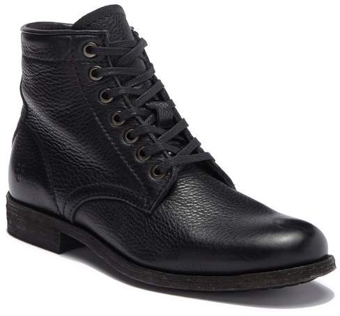 Frye Tyler Leather Lace Up Boot