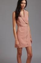 Dynamite Sleeveless Front Zip Blazer Dress