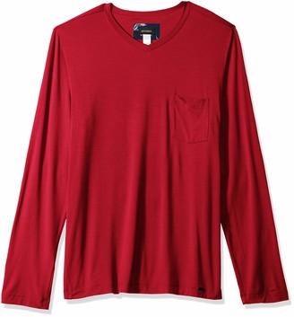 Hanro Men's Noe Long Sleeve V-Neck Shirt