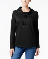 Karen Scott Funnel-Neck Top, Only at Macy's