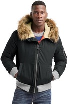 Gap ColdControl Max hooded bomber jacket