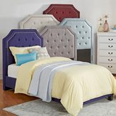 Inspire Q IQ KIDS Grace Button Tufted Arched Bridge TWIN-sized Headboard
