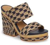 Tory Burch Lola Woven Platform Sandal
