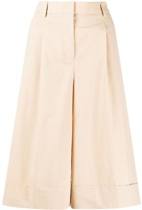 Incotex Pleated Midi Skirt