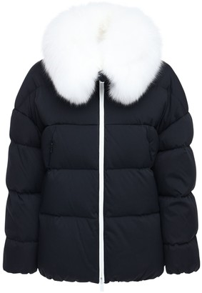Tatras Nashi Down Jacket W/ Fur Trim