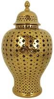 Cafe Lighting Minx Temple Jar Gold Large