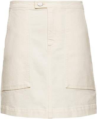 Banana Republic Denim Utility Mini Skirt