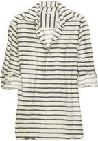 Steven Alan Linen-blend shirt
