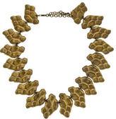 Saint Laurent Reptile Scale Link Necklace