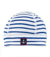 Petit Bateau Newborn baby boy decorative striped hat