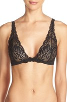 Natori Women's Feathers Convertible Wireless Plunge Bra