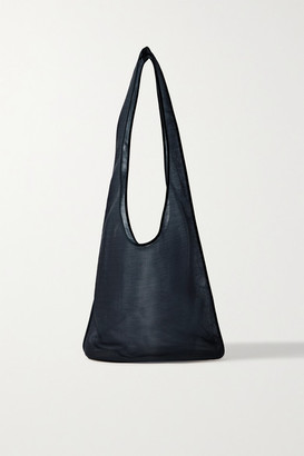 The Row Bindle Mesh Shoulder Bag - Navy