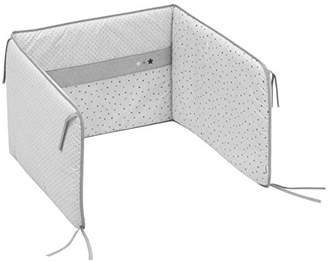 Camilla And Marc Cambrass Cot Bumper (60 x 40 cm, Stela Grey)