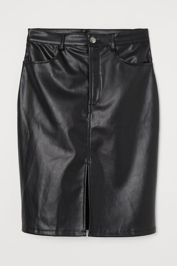 Thumbnail for your product : H&M Imitation leather skirt
