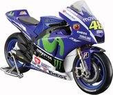 Tobar 1:10 Fiat Yamaha Movistar 2015 Season Valentino Rossi Replica Moto Gp Bike Toy
