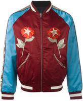 Diesel colour block bomber jacket - men - Cotton/Polyester/Spandex/Elastane/Viscose - XS