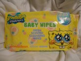 SpongeBob Squarepants Sponge Bob Squarepants, Fresh Scented Cleansing Wipes, 80 Wipes