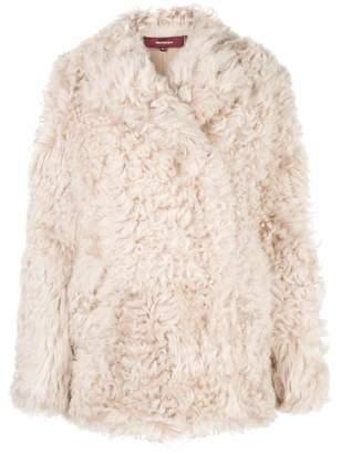 Sies Marjan Pippa Oversized Shearling Jacket