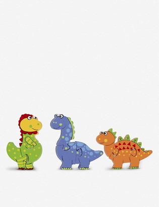 Orange Tree Toys Dinosaur Puzzle wooden toy dinosaur puzzle set of three 17cm