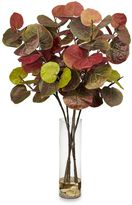 Bed Bath & Beyond Nearly Natural Giant Sea Grape Leaf with CylinderSilk Plant
