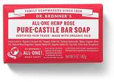 Dr. Bronner's Rose Bar Soap Made with Organic Ingredients 140 g