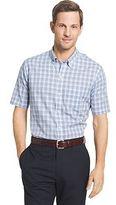 Van Heusen Big & Tall Flex Stretch Short Sleeve Button-Down Shirt