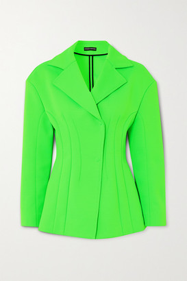 Kwaidan Editions Stretch-jersey Blazer - Green