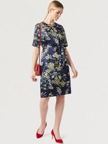 Hobbs Madeline Jacquard Dress - Midnight Multi