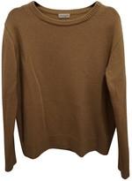 Dries Van Noten Camel Cashmere Knitwear