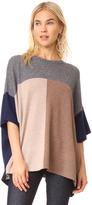 TSE x Claudia Schiffer Colorblock Pullover