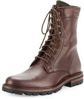 Aquatalia Justin Weatherproof Leather Chukka Boot, Black