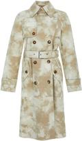 Michael Kors Suede Trench Coat