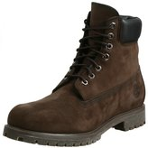 Timberland Men's 6 inch Premium Waterproof Boot, Black Nubuck, 9.5 M US