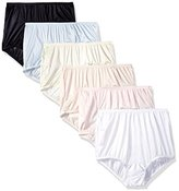 Vanity Fair Women's 6 Pack Perfectly Yours Ravissant Tailored Brief Panty 15113