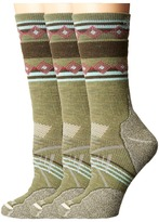Smartwool PhD Outdoor Medium Pattern Crew 3-Pair Pack