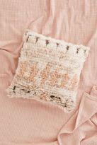 Urban Outfitters Neutral Boucherouite Wool Pillow