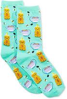 Hot Sox Women's Honey Bear Socks