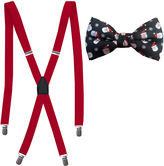 Asstd National Brand Hallmark 2-pc. Santa Bowtie and Suspender Set