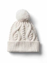 Gap Diamond cable knit beanie