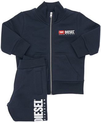 Diesel Cotton Zip-Up Sweatshirt & Sweatpants