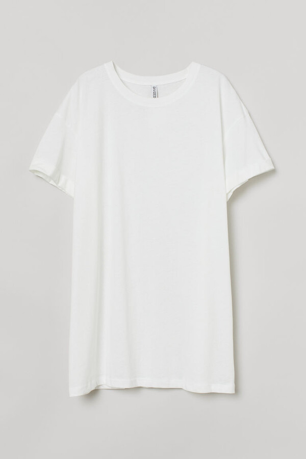 H&M - H&M+ Cotton T-shirt - White