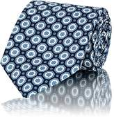 Boglioli Men's Floral-Medallion Silk Necktie