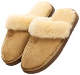 YINHAN Unisex Winter Warm House Indoor Faux Fur Suede Slippers/Footwear