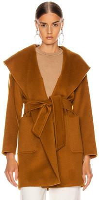Max Mara Rialto Coat in Tobacco | FWRD