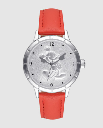 Disney Mickey Sculpted Dial Red Watch
