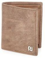 River Island MensEcru fold out wallet