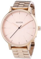 Nixon 099897-00-A Women's Quartz Analogue Watch-Stainless Steel Strap Golden