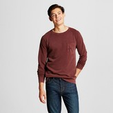 Men's Washed Crew Pullover Red - Mossimo Supply Co.